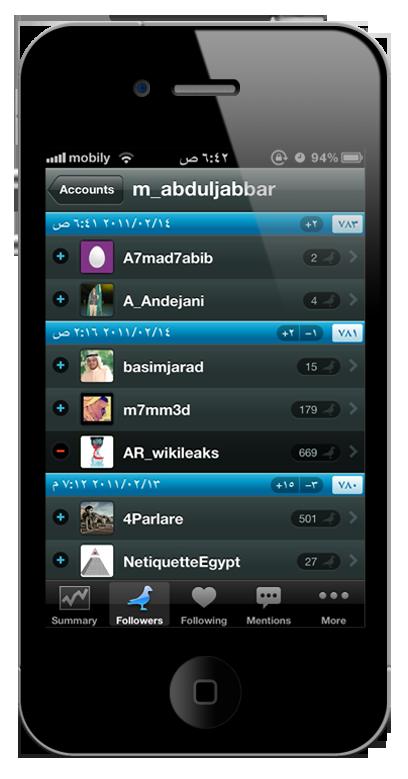 Birdbrain1 برنامج Birdbrain لادارة حسابك في تويتر