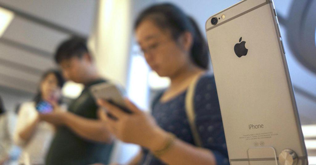 تراجع مبيعات آيفون في الصين يدفعها للمركز الرابع لتخسر آبل بذلك أكثر من 18٪ من السوق